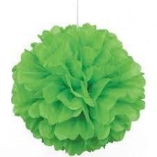 35CM Puff Ball Lime