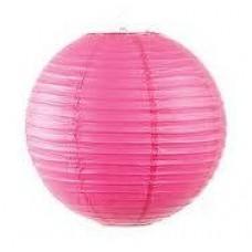 12CM Lantern 2Pack Hot Pink