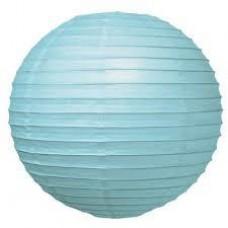 12Cm Lantern 2Pack Light Blue
