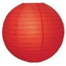 20CM Lantern 2Pack Red