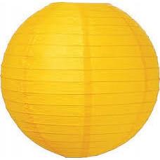 20CM Lantern 2Pack Yellow
