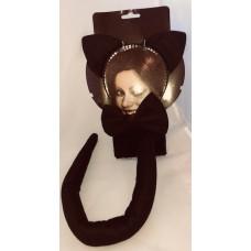Black Cat Dress Up Set Deluxe