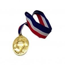 6 Pack 5cm Gold Medal