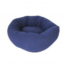 Blue Round Donut Bed