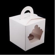 Cup Cake Box 1 cup 9cm x 9cm x 10cm