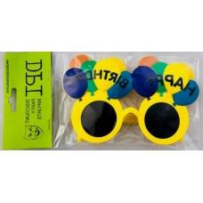 Balloon Birthday Glasses