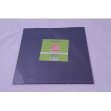 Cake Board Square - Black Foil 10