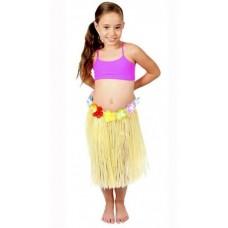 40cm Single Colour Hawaiian Skirt
