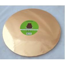 Cake Board Round - Rose Gold Foil 30cm 12mm