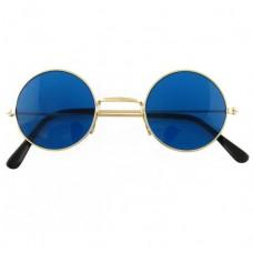 Blue hippy glasses