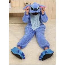 ONESIE BLUE RABBIT  [size: adults]