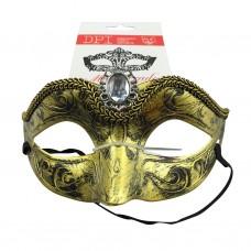Gold Masquerade WClear Diamond