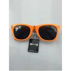 80's orange party glasses