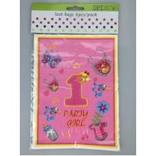 1st B/D Girl loot bags 8pcs