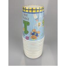 1st B/D Boy 9oz.cups 16pcs