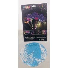 Bobo Balloon blue sparkles
