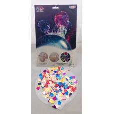 Bobo Balloon heart confetti