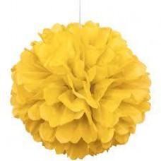 20CM Puff Ball Yellow