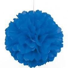 20CM Puff Ball Blue