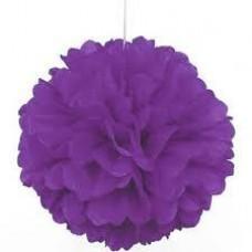 20CM Puff Ball Purple