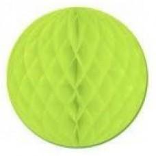 15CM Honeycomb Ball Lime