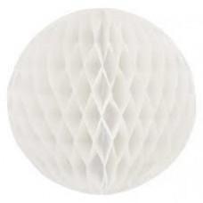 15CM Honeycomb Ball White