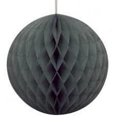 15CM Honeycomb Ball Black