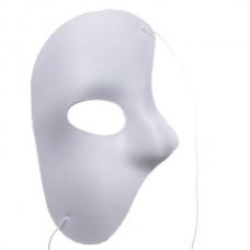 Half Phantom Mask White