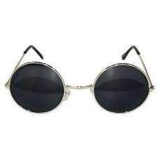 Black hippy glasses