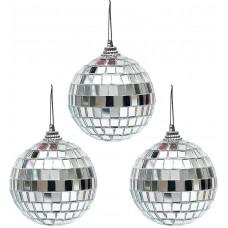 8cm Disco Ball 3Pk