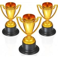 Trophy Cup 10cm 3Pk
