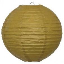 20CM GOLD PAPER LANTERN