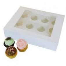 Cup Cake box 12 cup 34 cm x 26 cm x 10cm