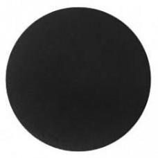 "Cake Board Round - Black Foil 14"" 4mm"