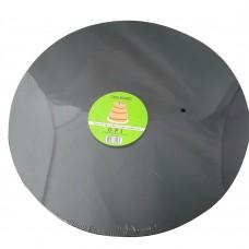 "Cake Board Round - Black Foil 16"" 4mm"