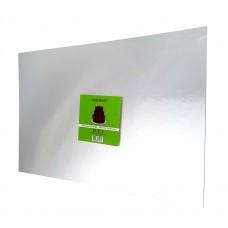 "Cake Board Rectangle - Silver Foil 12x18"" 4mm"