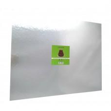 "Cake Board Rectangle - Silver Foil 16x20"" 4mm"