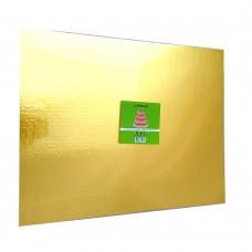 Cake Board Rectangle - Gold Foil 16x20