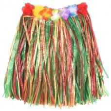 60cm multicolour hawaiian skirt
