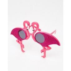 Big flamingo party glasses