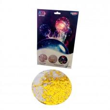 Bobo Balloon gold sparkles