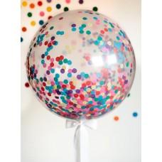 Bobo Balloons with confetti