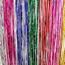 Tinsel curtain Rainbow