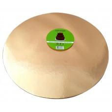 Cake Board Round - Rose Gold Foil 35 cm 4 mm