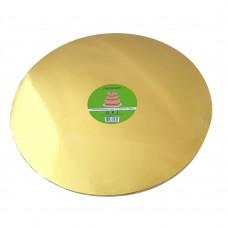 Cake Board Round - Gold Foil 40cm 12mm