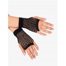 Fishnet Glove short [Colour: Black]