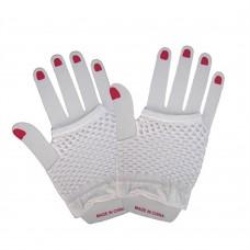 Fishnet Glove short [Colour: White]
