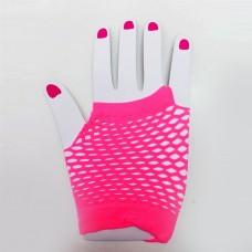 Fishnet Glove short [Colour: pink]