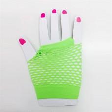 Fishnet Glove short [Colour: Green]