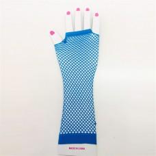 Fishnet Glove long [Colour: blue]